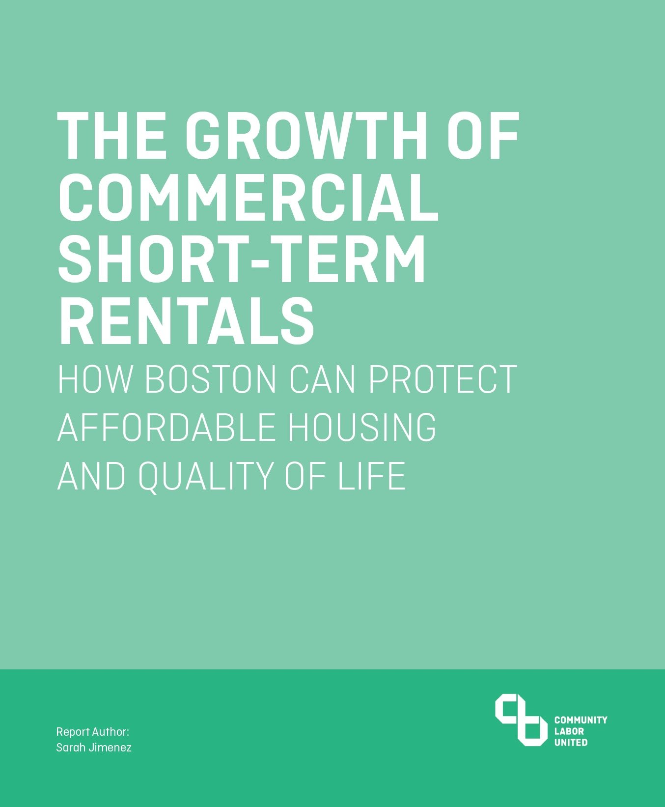 THE GROWTH OF COMMERCIAL SHORT-TERM RENTALS